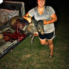 Meat in the freezer
