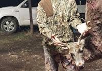 30 yrd bow kill