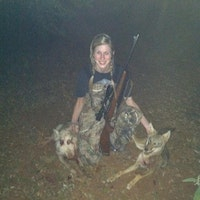 Helping a land owner with a pig problem and happened to take a coyote too