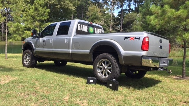 HOG Case crush test with F350